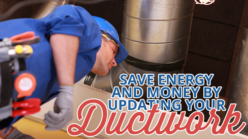 Save Energy and Money by Updating Your Ductwork