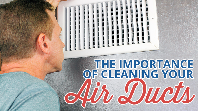 Don't Duck from Cleaning Your Air Ducts